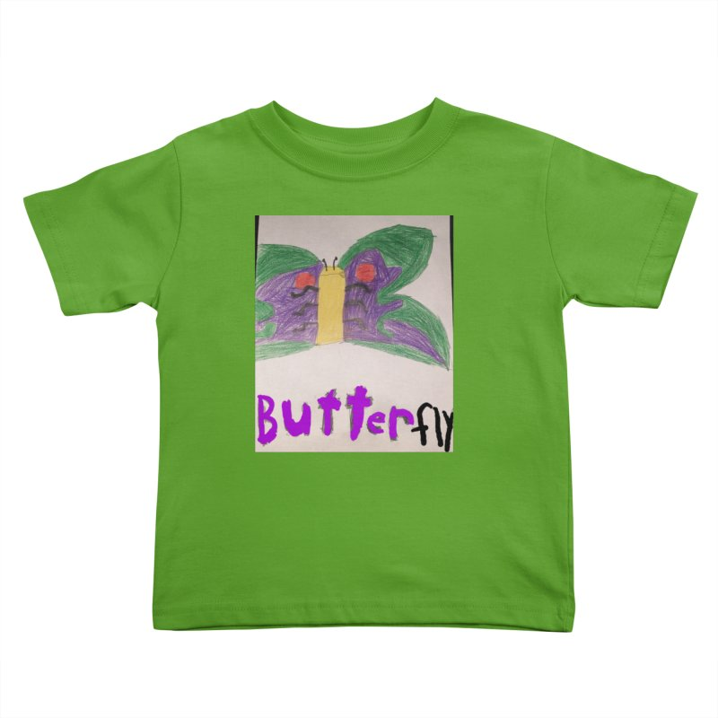 BUTTERfly Kids Toddler T-Shirt by Mind-art Passion