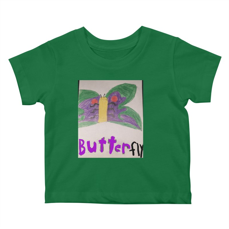 BUTTERfly Kids Baby T-Shirt by Mind-art Passion