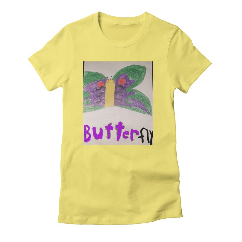 BUTTERfly Women's T-Shirt by Mind-art Passion