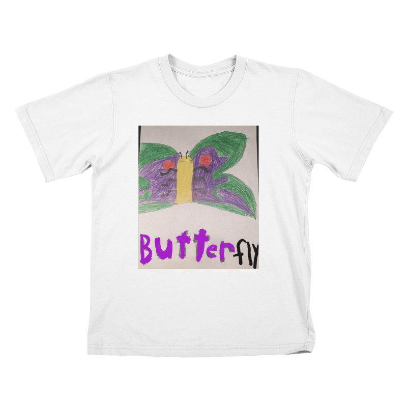 BUTTERfly Kids T-Shirt by Mind-art Passion