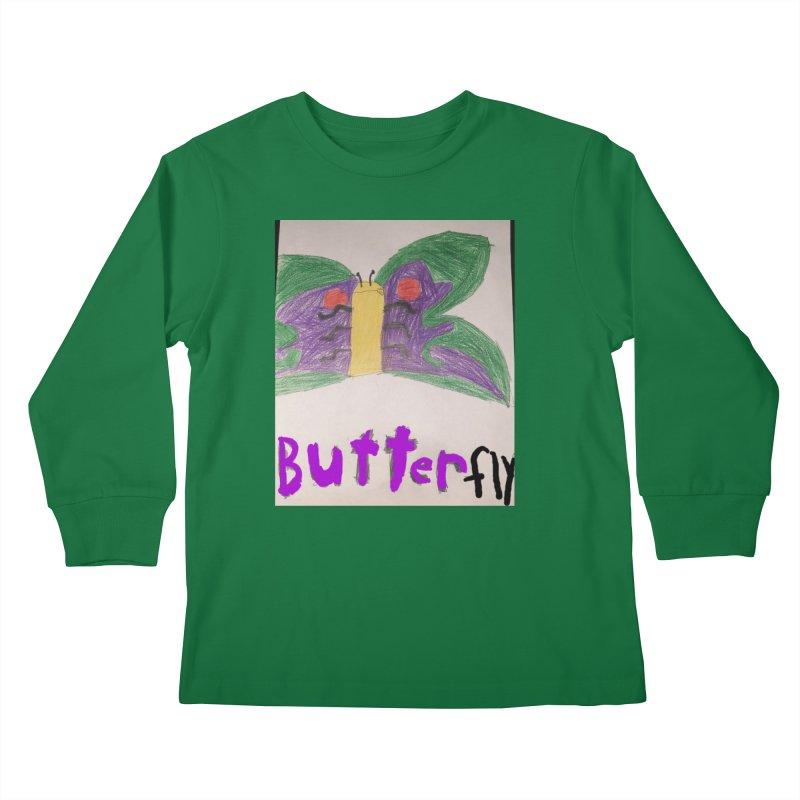 BUTTERfly Kids Longsleeve T-Shirt by Mind-art Passion