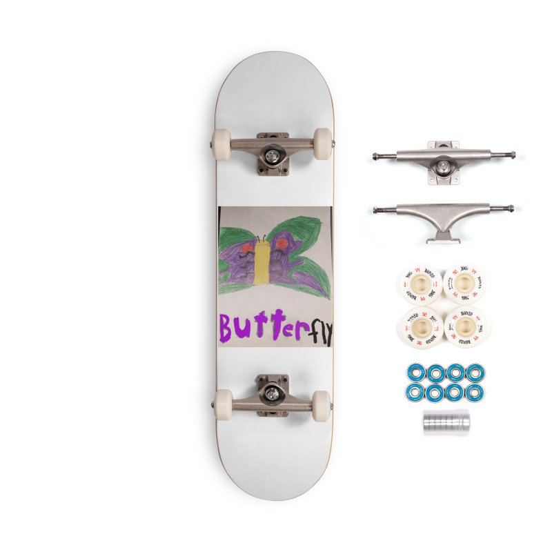 BUTTERfly Accessories Skateboard by Mind-art Passion
