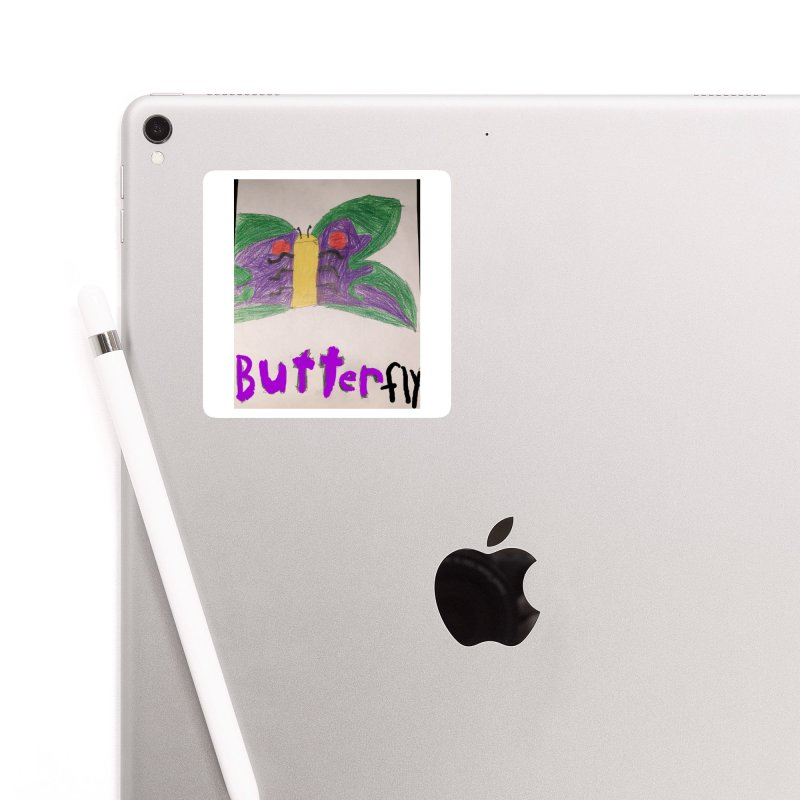BUTTERfly Accessories Sticker by Mind-art Passion