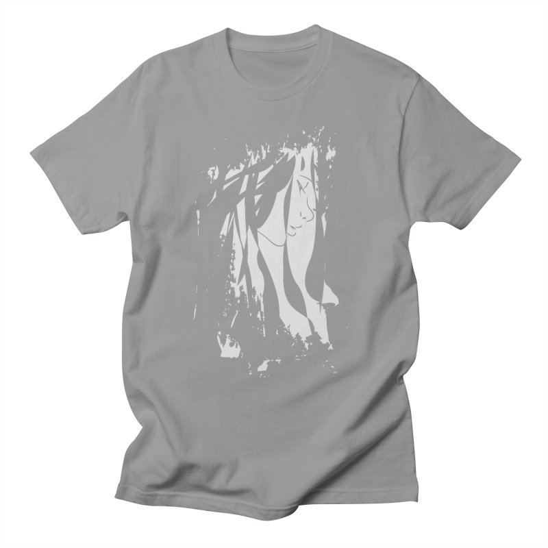 Heather Grey Men's T-Shirt by The Mindful Tee