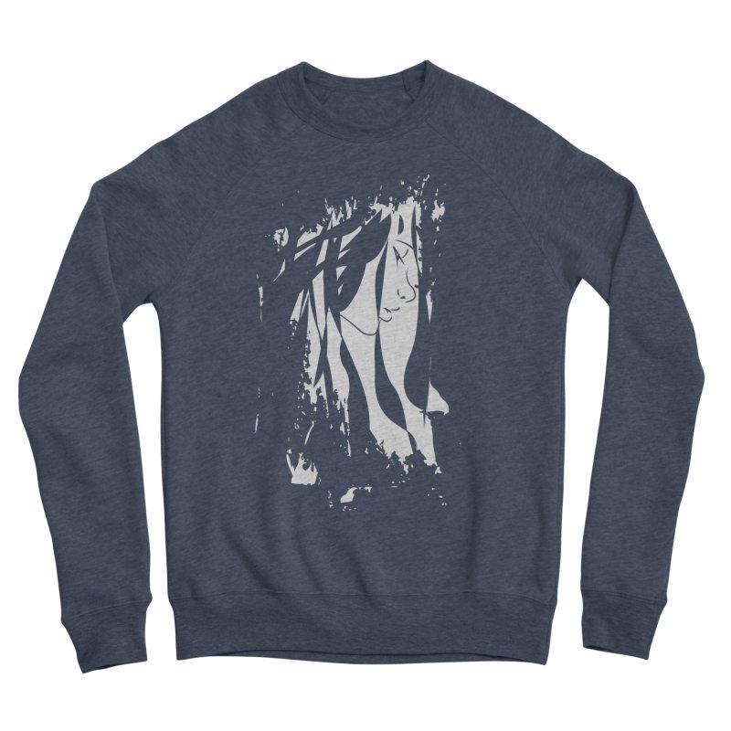 Heather Grey Men's Sponge Fleece Sweatshirt by The Mindful Tee