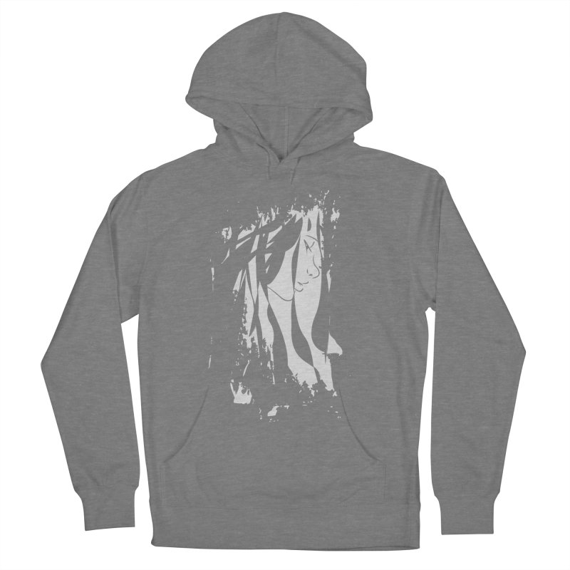 Heather Grey Women's French Terry Pullover Hoody by The Mindful Tee
