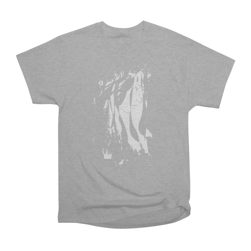 Heather Grey Men's Heavyweight T-Shirt by The Mindful Tee