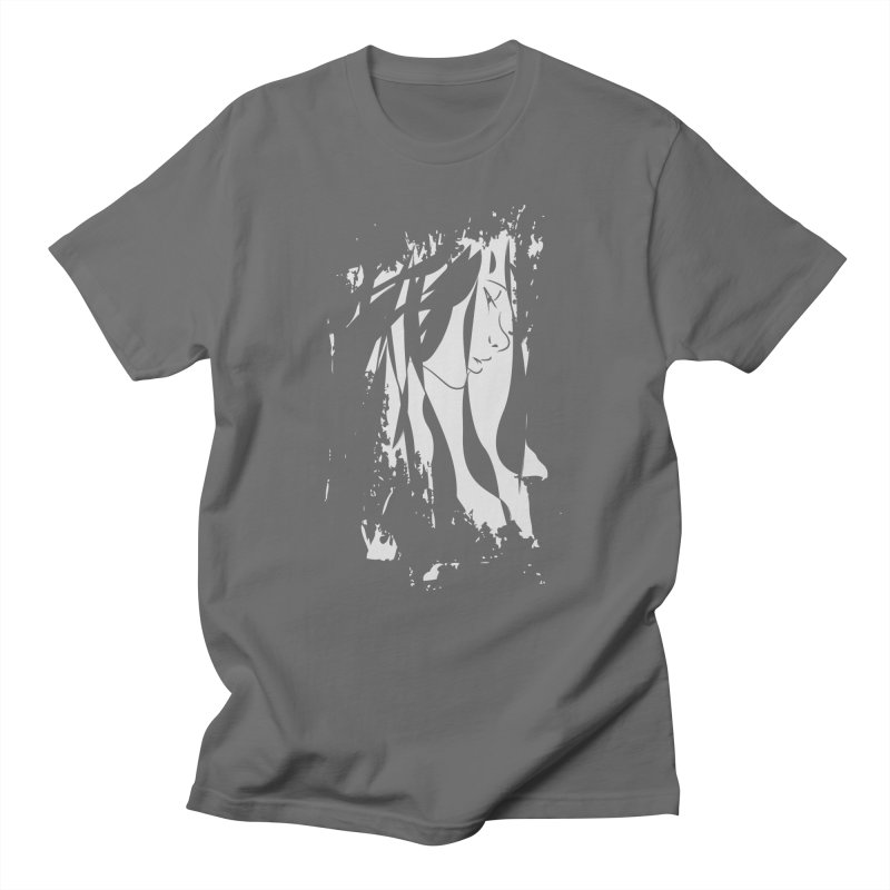 Heather Grey in Men's T-shirt Asphalt by The Mindful Tee
