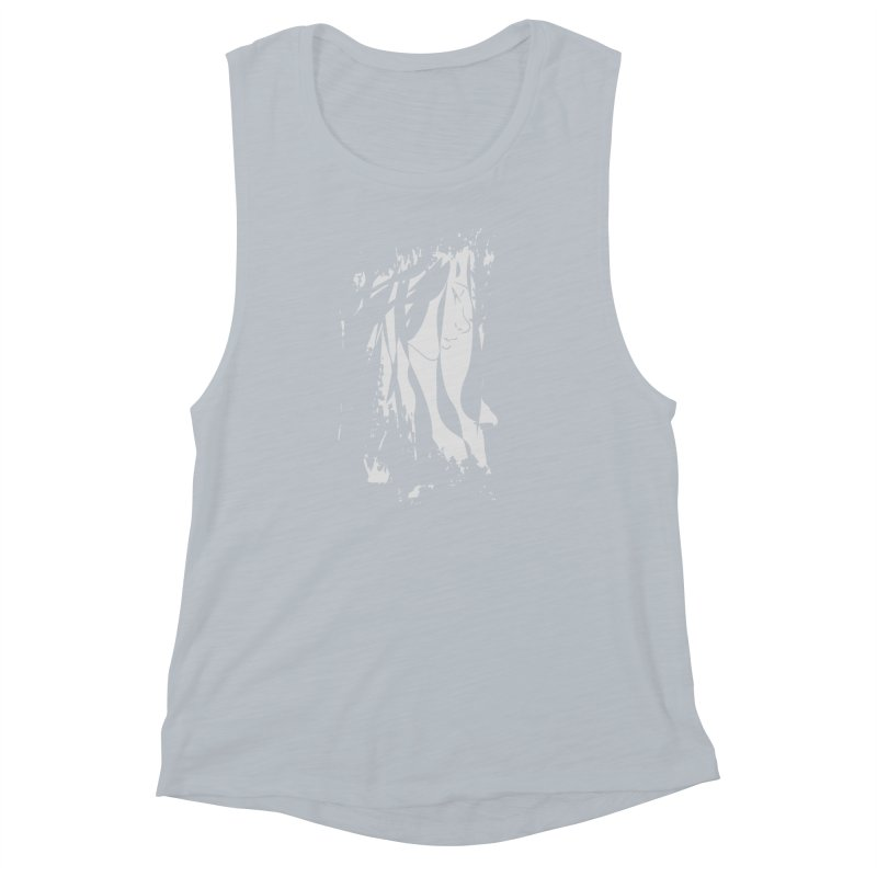 Heather Grey Women's Muscle Tank by The Mindful Tee