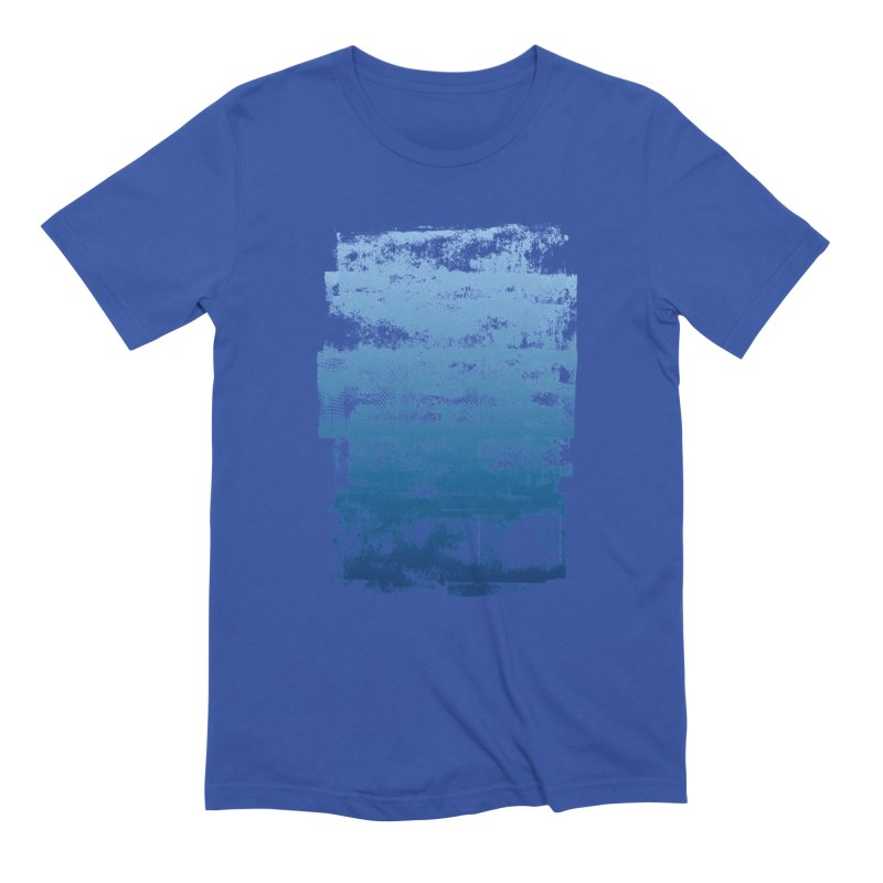 Rubber Blue Men's T-Shirt by The Mindful Tee