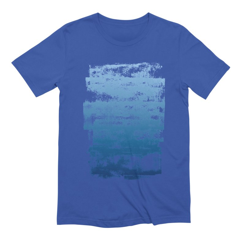 Rubber Blue Men's Extra Soft T-Shirt by The Mindful Tee