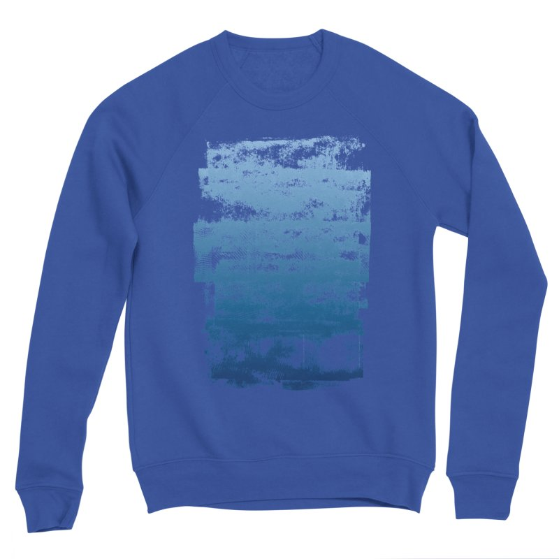 Rubber Blue Men's Sweatshirt by The Mindful Tee