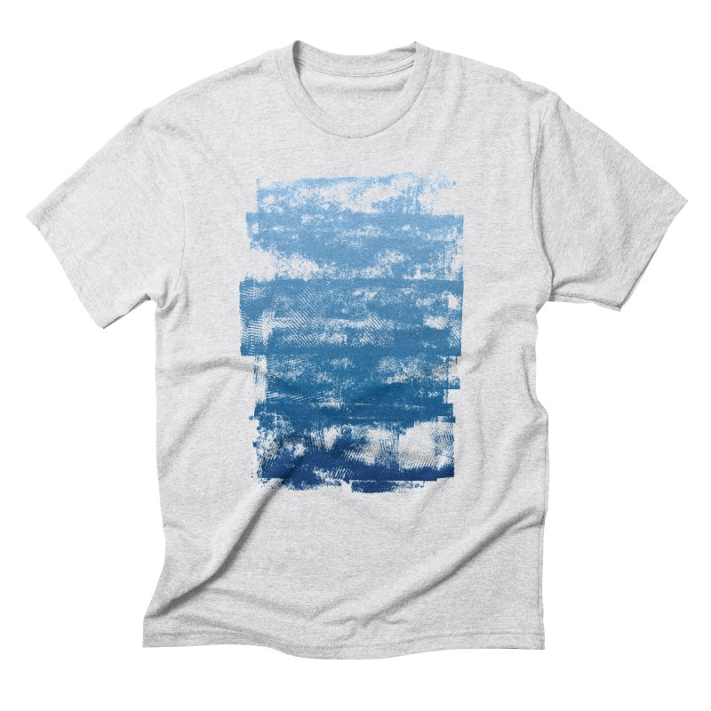 Rubber Blue Men's Triblend T-Shirt by The Mindful Tee