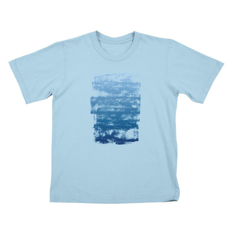 Rubber Blue Kids Toddler T-Shirt by The Mindful Tee