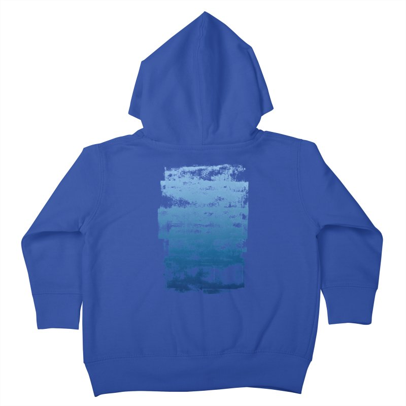 Rubber Blue Kids Toddler Zip-Up Hoody by The Mindful Tee