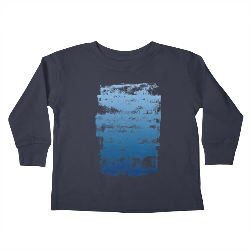 Rubber Blue Kids Toddler Longsleeve T-Shirt by The Mindful Tee