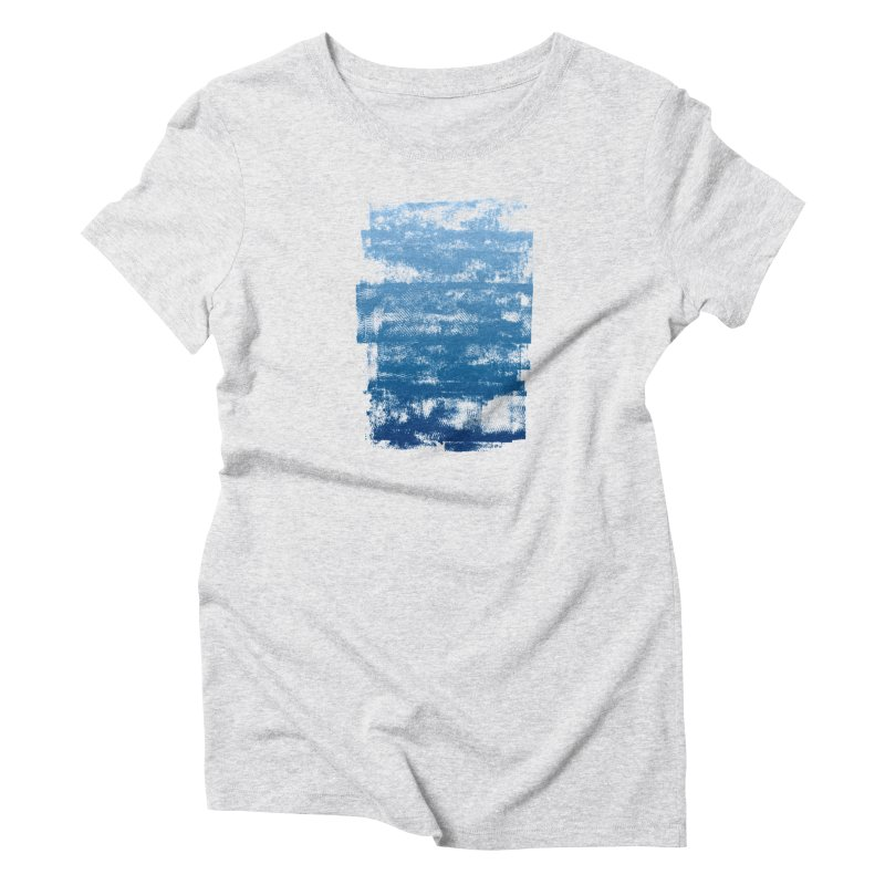 Rubber Blue Women's T-Shirt by The Mindful Tee