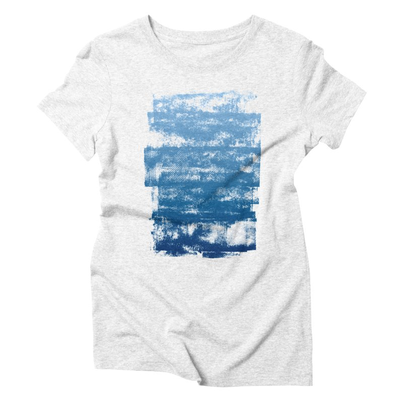 Rubber Women's Triblend T-shirt by The Mindful Tee