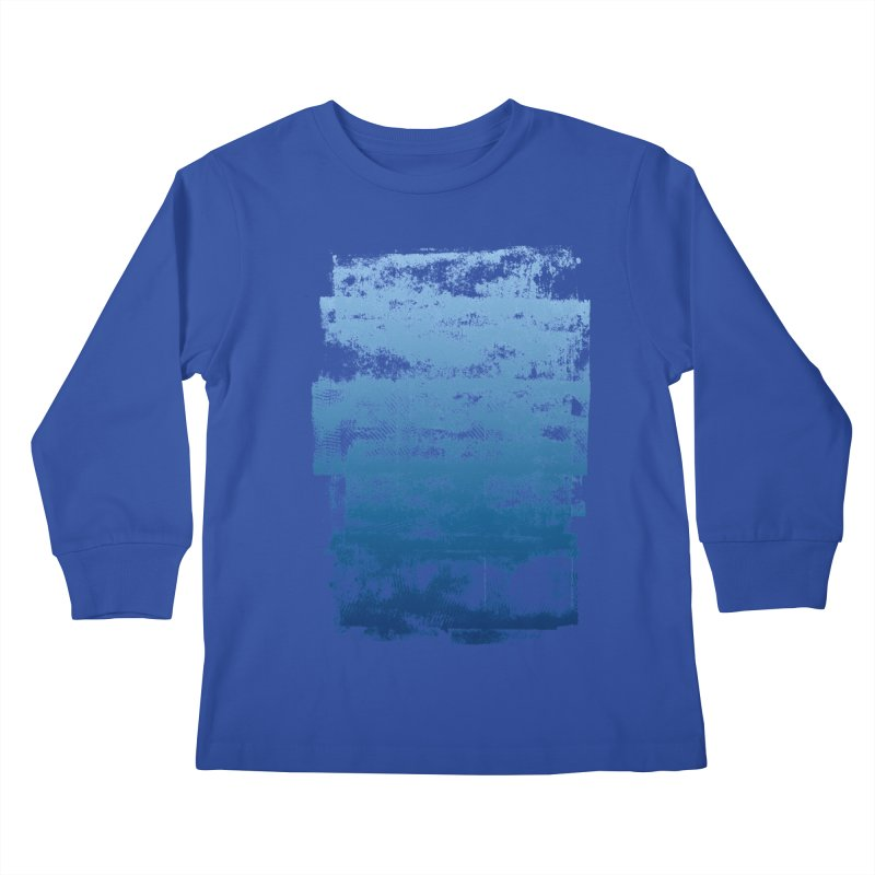 Rubber Blue Kids Longsleeve T-Shirt by The Mindful Tee