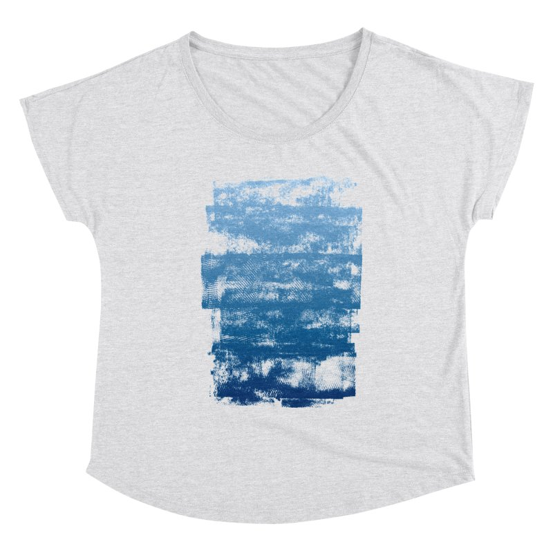 Rubber Blue Women's Scoop Neck by The Mindful Tee