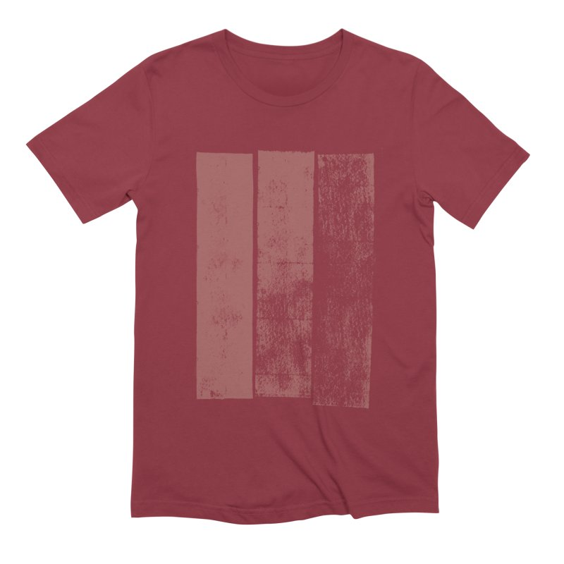 Stripes Men's Extra Soft T-Shirt by The Mindful Tee