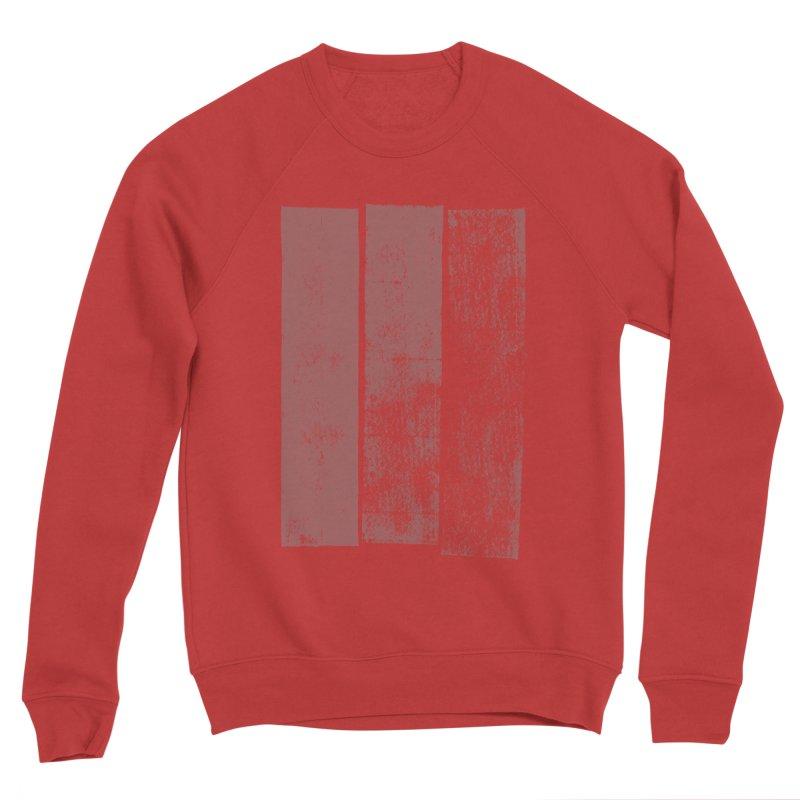 Stripes Men's Sponge Fleece Sweatshirt by The Mindful Tee
