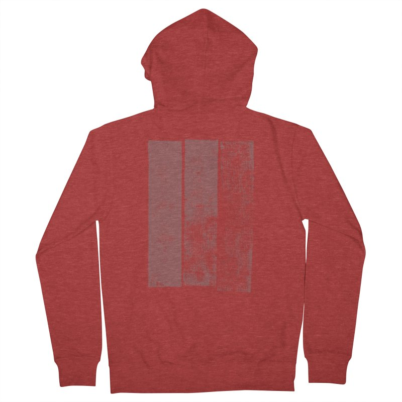 Stripes Men's Zip-Up Hoody by The Mindful Tee