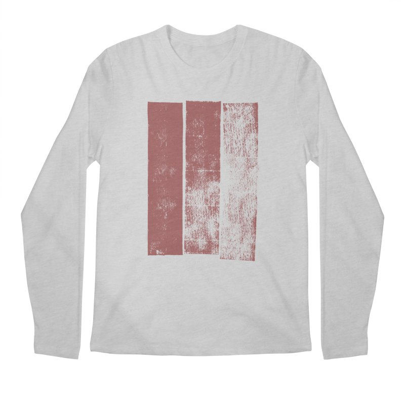 Stripes Men's Longsleeve T-Shirt by The Mindful Tee
