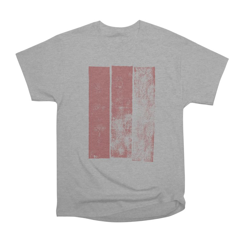 Stripes Women's Heavyweight Unisex T-Shirt by The Mindful Tee