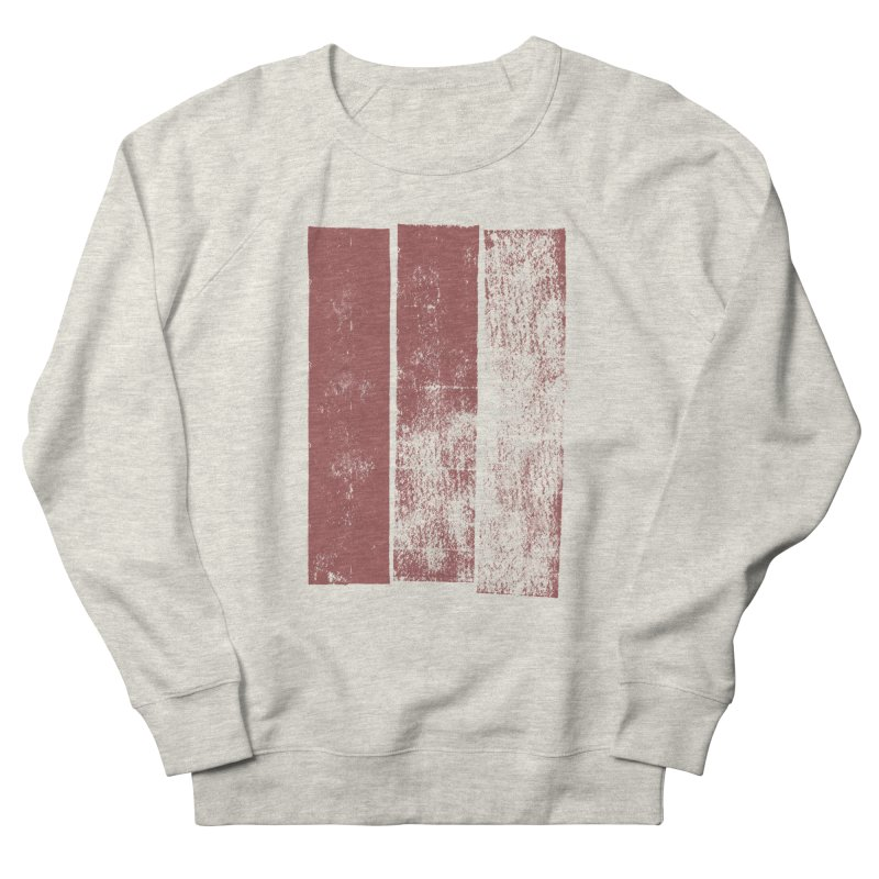 Stripes Women's French Terry Sweatshirt by The Mindful Tee