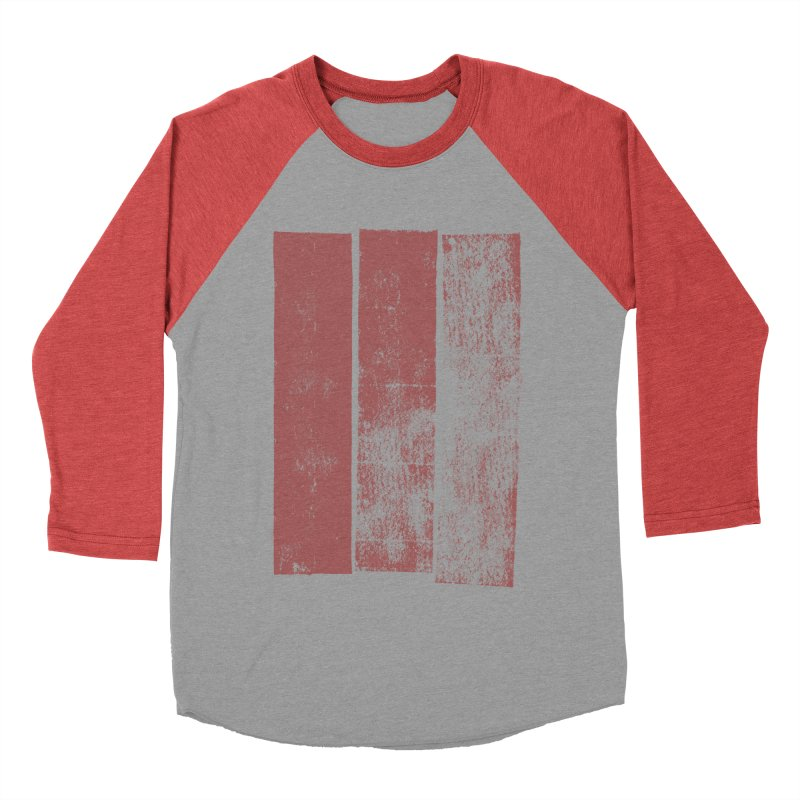 Stripes Men's Baseball Triblend Longsleeve T-Shirt by The Mindful Tee
