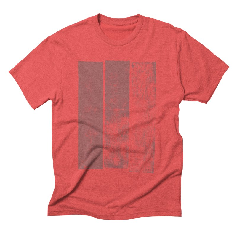 Stripes Men's Triblend T-shirt by The Mindful Tee