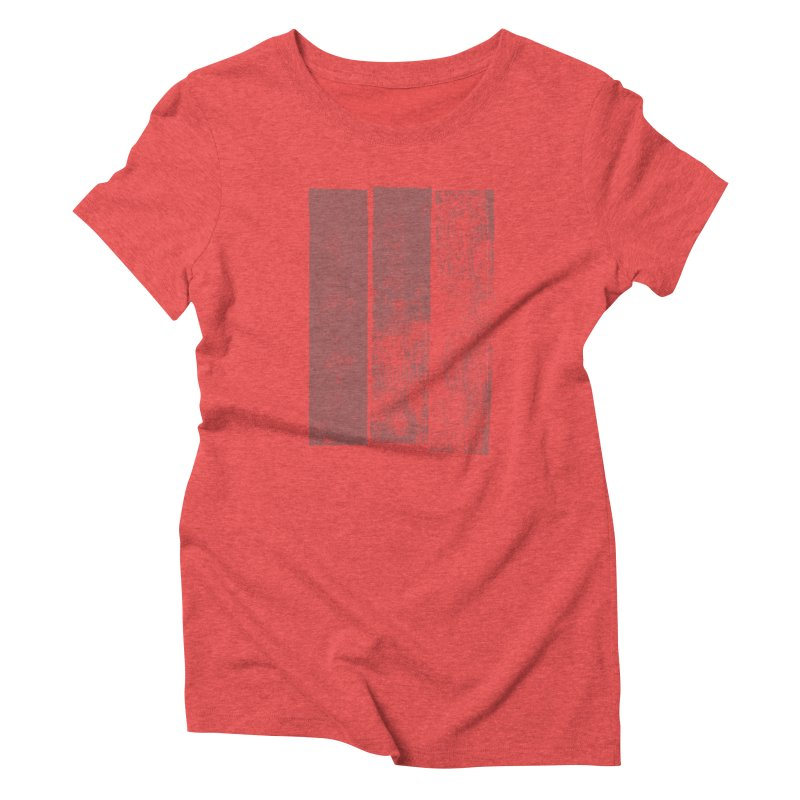 Stripes Women's T-Shirt by The Mindful Tee
