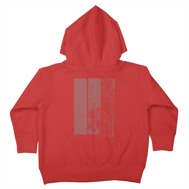 Stripes Kids Toddler Zip-Up Hoody by The Mindful Tee