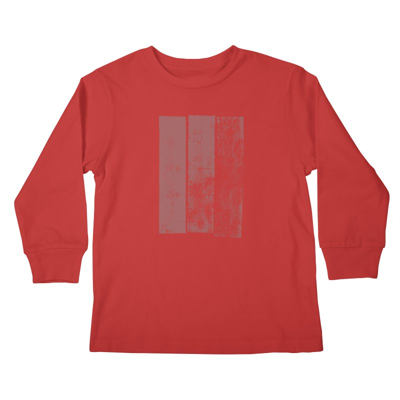 Stripes Kids Longsleeve T-Shirt by The Mindful Tee