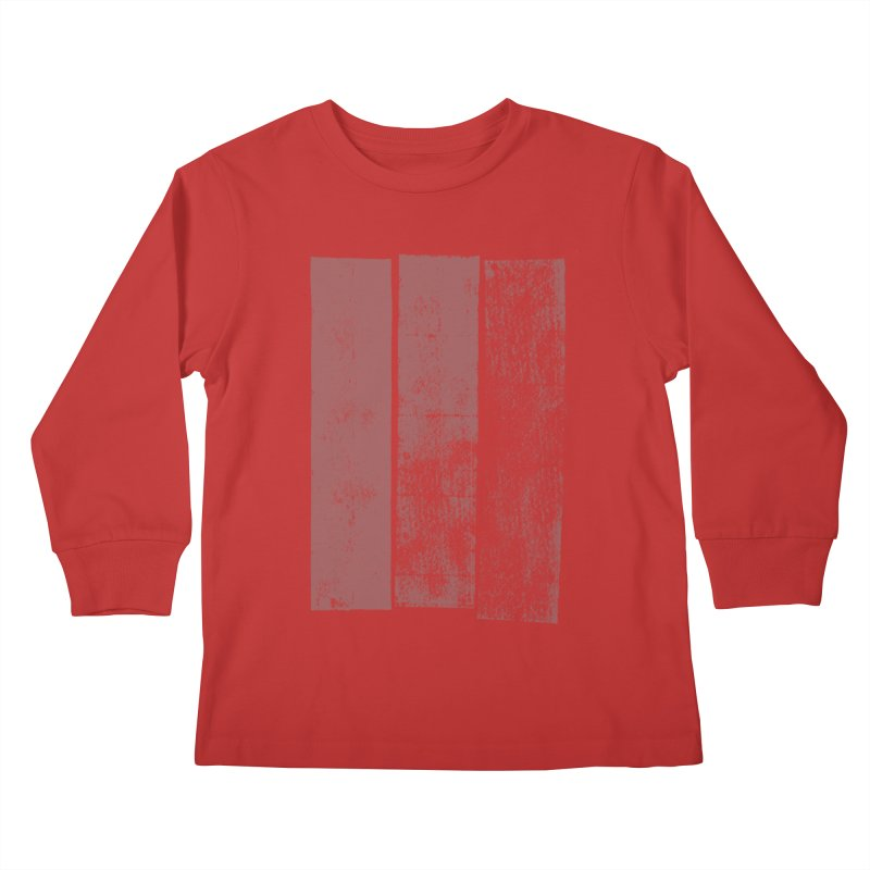 Stripes Kids Longsleeve T-Shirt by The Mindful Tee