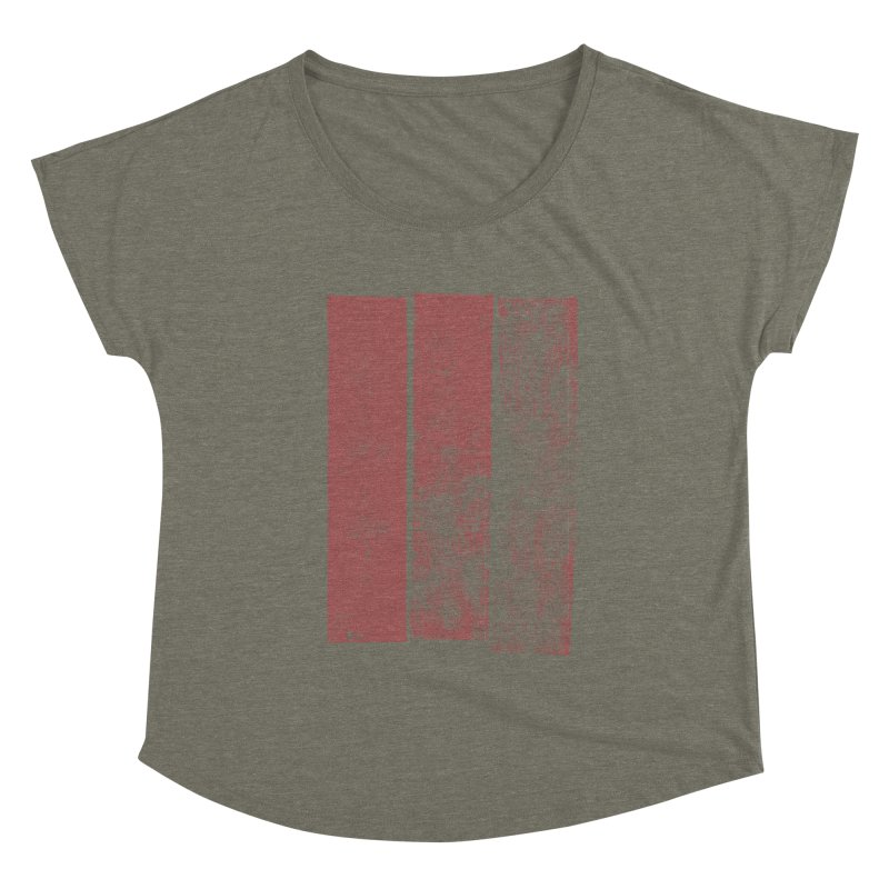 Stripes Women's Scoop Neck by The Mindful Tee