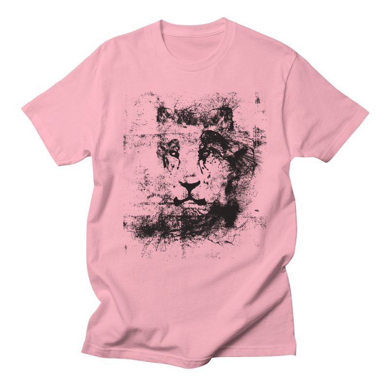 Ink Lion   by The Mindful Tee