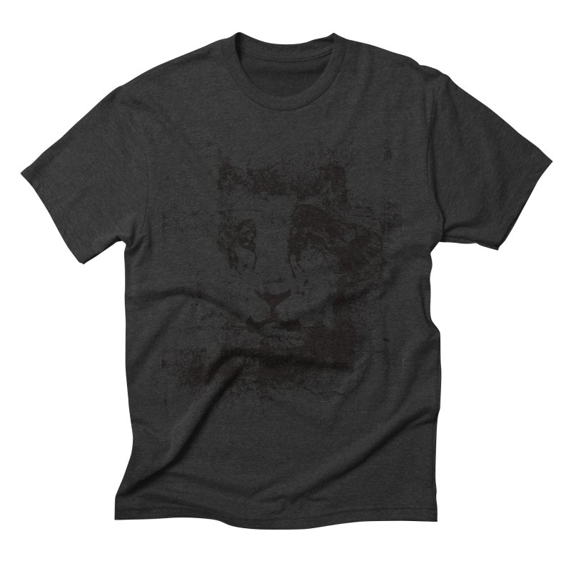 Ink Lion | On Sale!  ➔ Men's Triblend T-shirt by The Mindful Tee