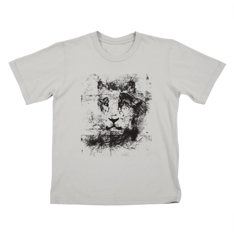 Ink Lion   On Sale!  ➔ Kids T-shirt by The Mindful Tee