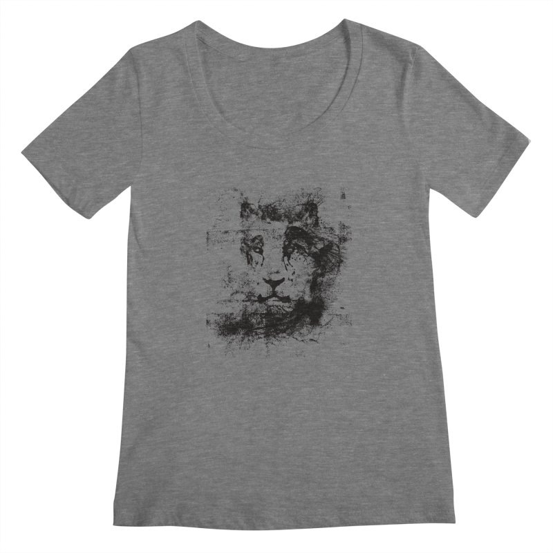 Ink Lion | On Sale!  ➔ Women's Scoopneck by The Mindful Tee