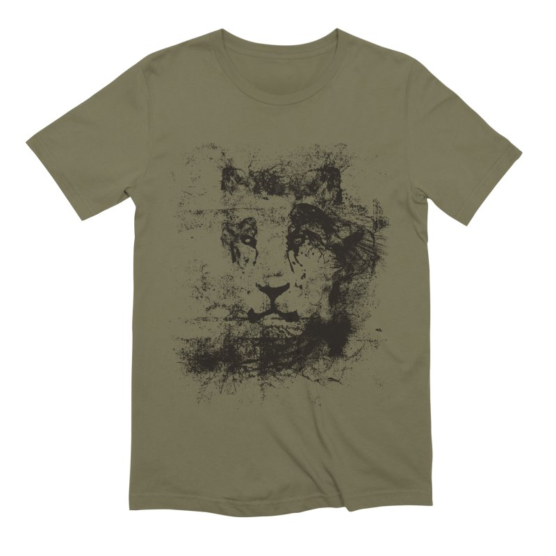 Ink Lion | On Sale!  ➔ Men's Extra Soft T-Shirt by The Mindful Tee