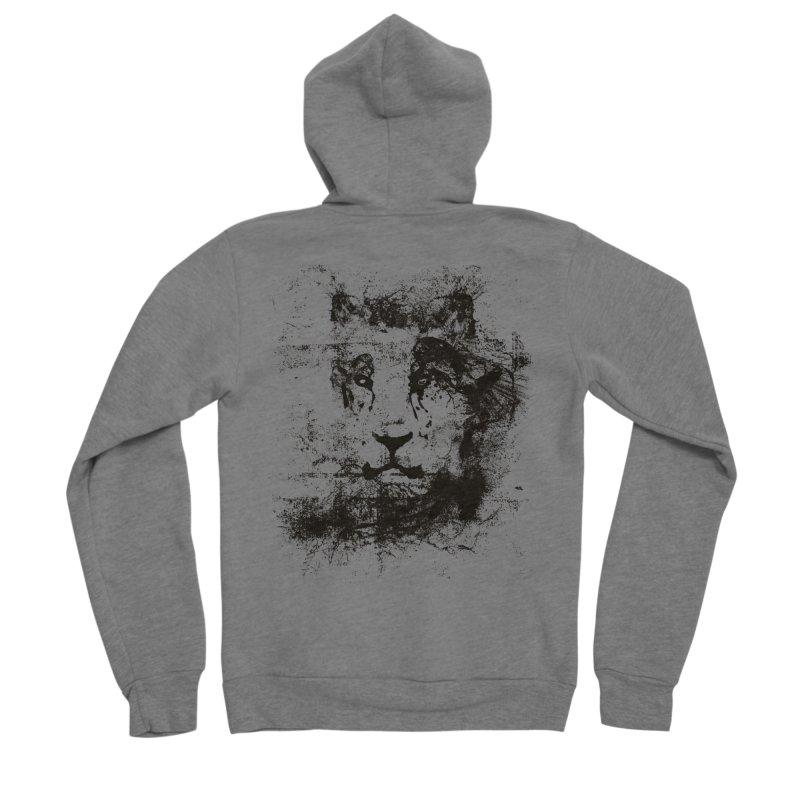 Ink Lion   On Sale!  ➔ Men's Sponge Fleece Zip-Up Hoody by The Mindful Tee