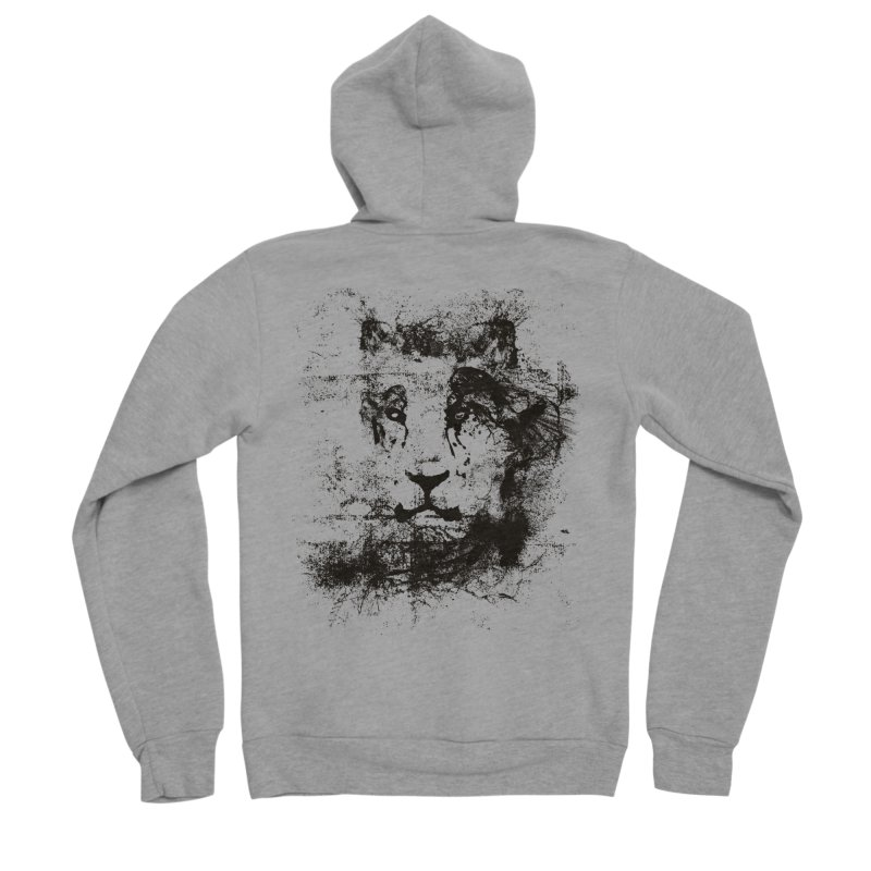 Ink Lion | On Sale!  ➔ Women's Sponge Fleece Zip-Up Hoody by The Mindful Tee