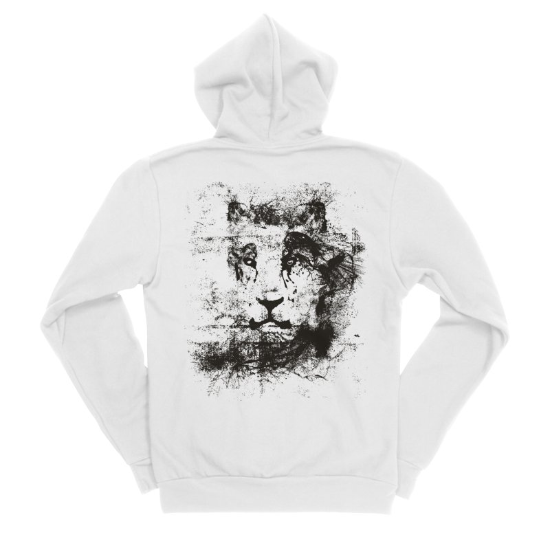 Ink Lion | On Sale!  ➔ Men's Sponge Fleece Zip-Up Hoody by The Mindful Tee