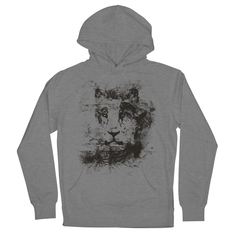 Ink Lion   On Sale!  ➔ Men's French Terry Pullover Hoody by The Mindful Tee