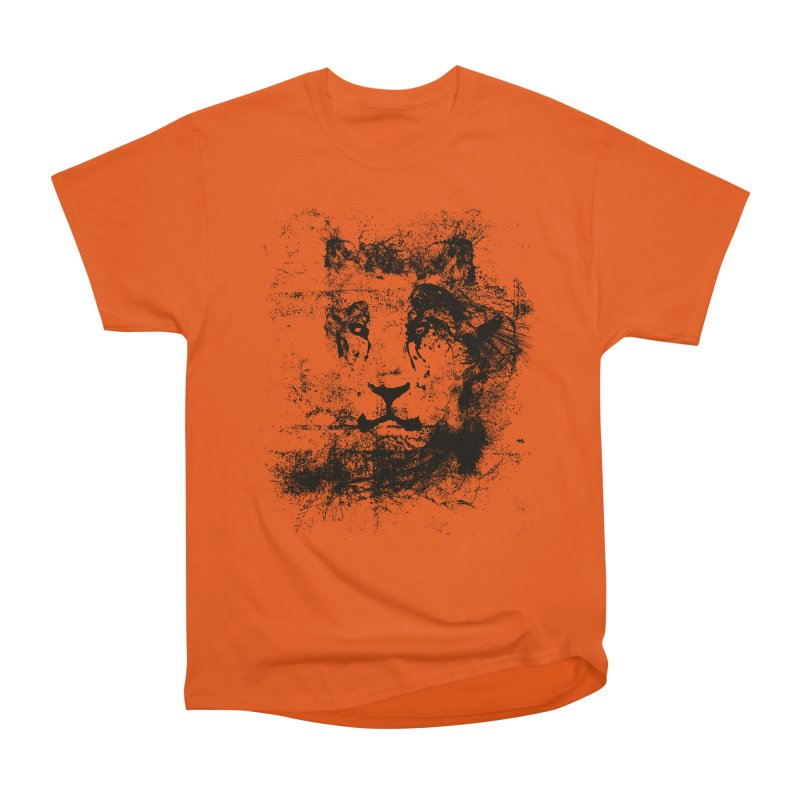 Ink Lion | On Sale!  ➔ Women's Heavyweight Unisex T-Shirt by The Mindful Tee