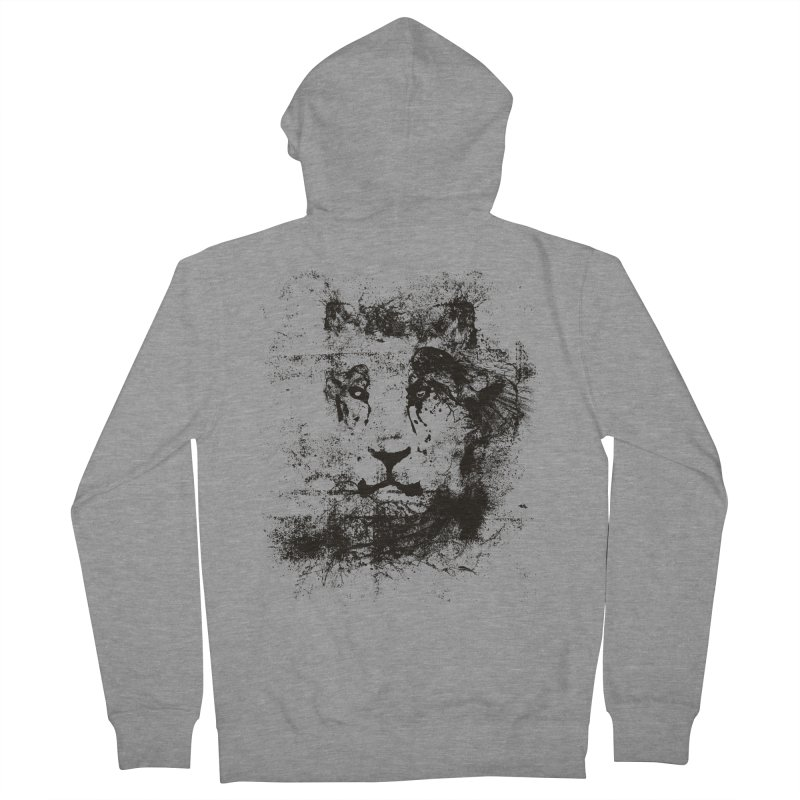 Ink Lion | On Sale!  ➔ Men's French Terry Zip-Up Hoody by The Mindful Tee