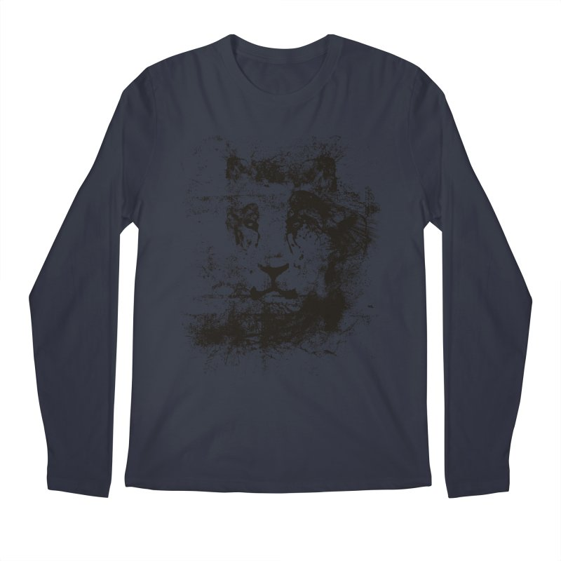 Ink Lion | On Sale!  ➔ Men's Longsleeve T-Shirt by The Mindful Tee
