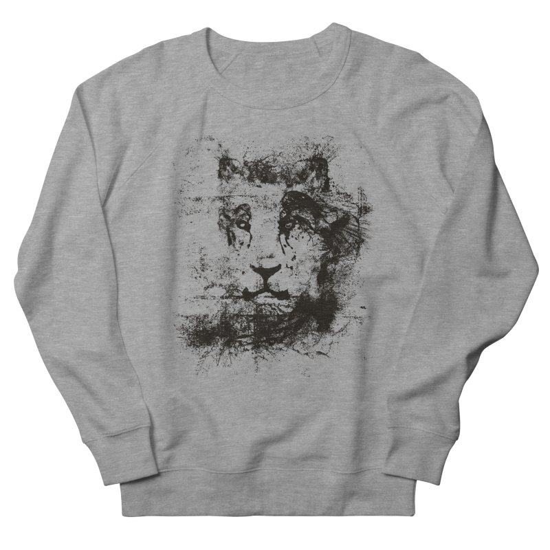 Ink Lion | On Sale!  ➔ Women's French Terry Sweatshirt by The Mindful Tee